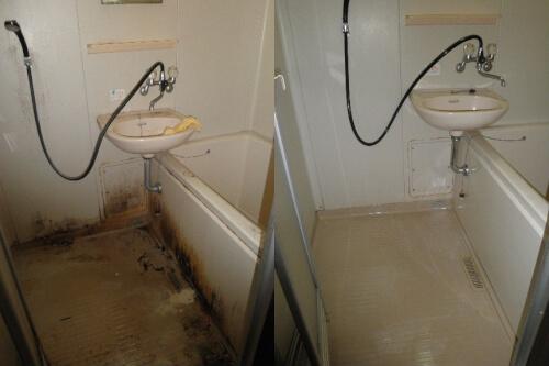 八尾市のゴミ屋敷の水回りを徹底洗浄でキレイに復活