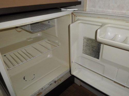 悪臭が消え、使用可能になった冷蔵庫