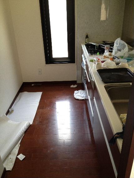 キッチン床B