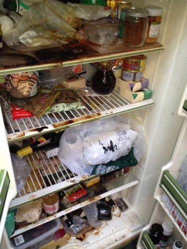 冷蔵庫の中はほぼ全部アウト