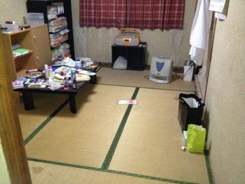 生活スペースがグンと広がった部屋