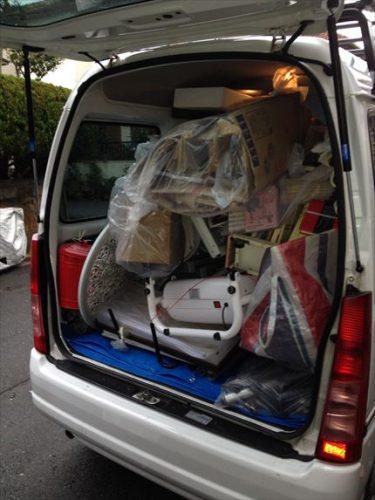 軽ワンボックス車満載の格安不用品回収 トリプルエス