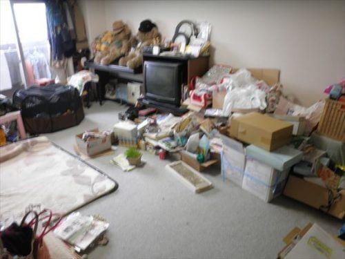 阿倍野区の汚部屋片付けと不用品回収