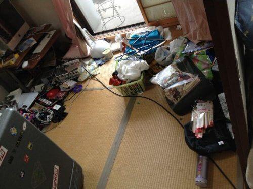和室は他と比較して、モノが少なめの片付けがとっかかり安い環境