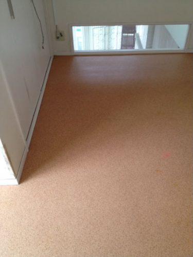 荒れていた3階の床もすっかり清潔に
