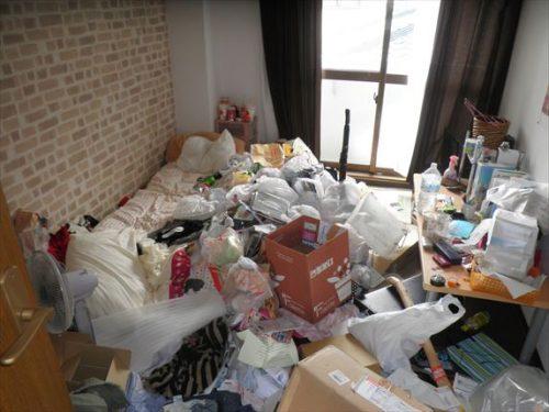 東大阪市の賃貸マンションの汚部屋を不用品回収でスッキリ