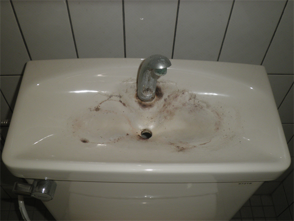 タイル手洗いB