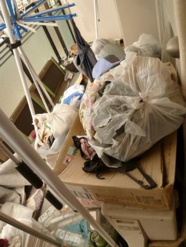 溢れたゴミや不要品を処分して生活環境を改善