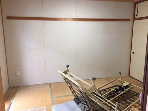 不用品処分作業を行った富田林市のマンション