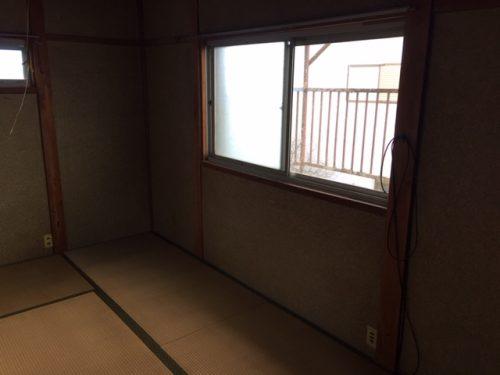 不用品だらけだった2階の和室も遺品整理サービスを終えてスッキリ トリプルエス 大阪