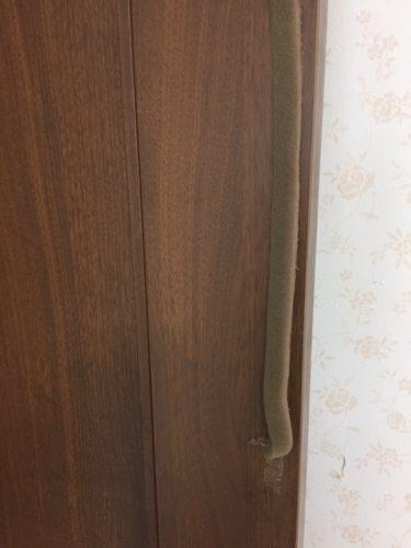 クッションが張り付けられたドア2
